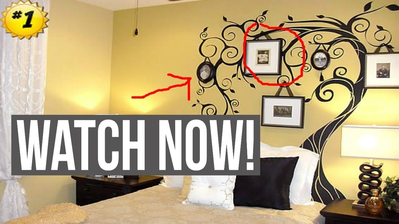wall painting ideas for bedroom - youtube