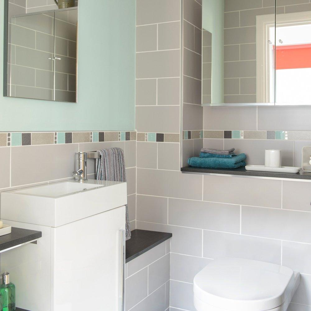 10 Unique Tile Ideas For Small Bathroom wall small bathroom tile ideas top bathroom small bathroom tile 2020