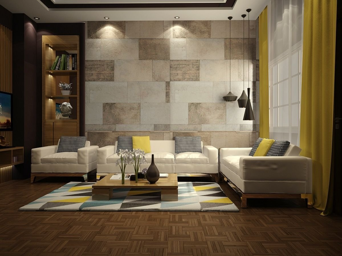 wall texture designs for the living room: ideas & inspiration | wall