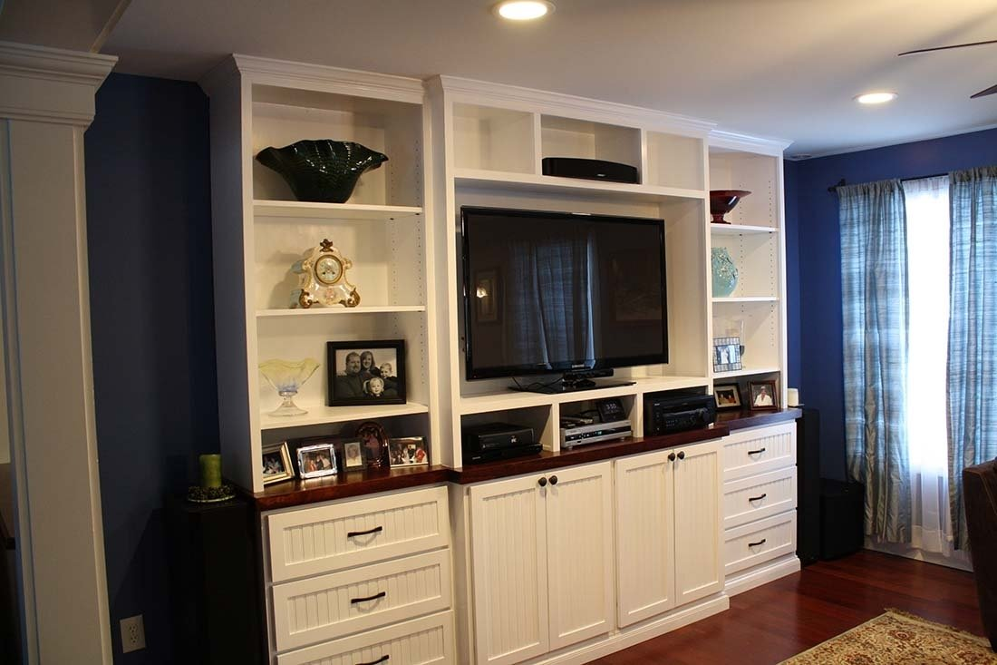 10 Awesome Built In Entertainment Center Ideas wall units best built in entertainment center diy how to build