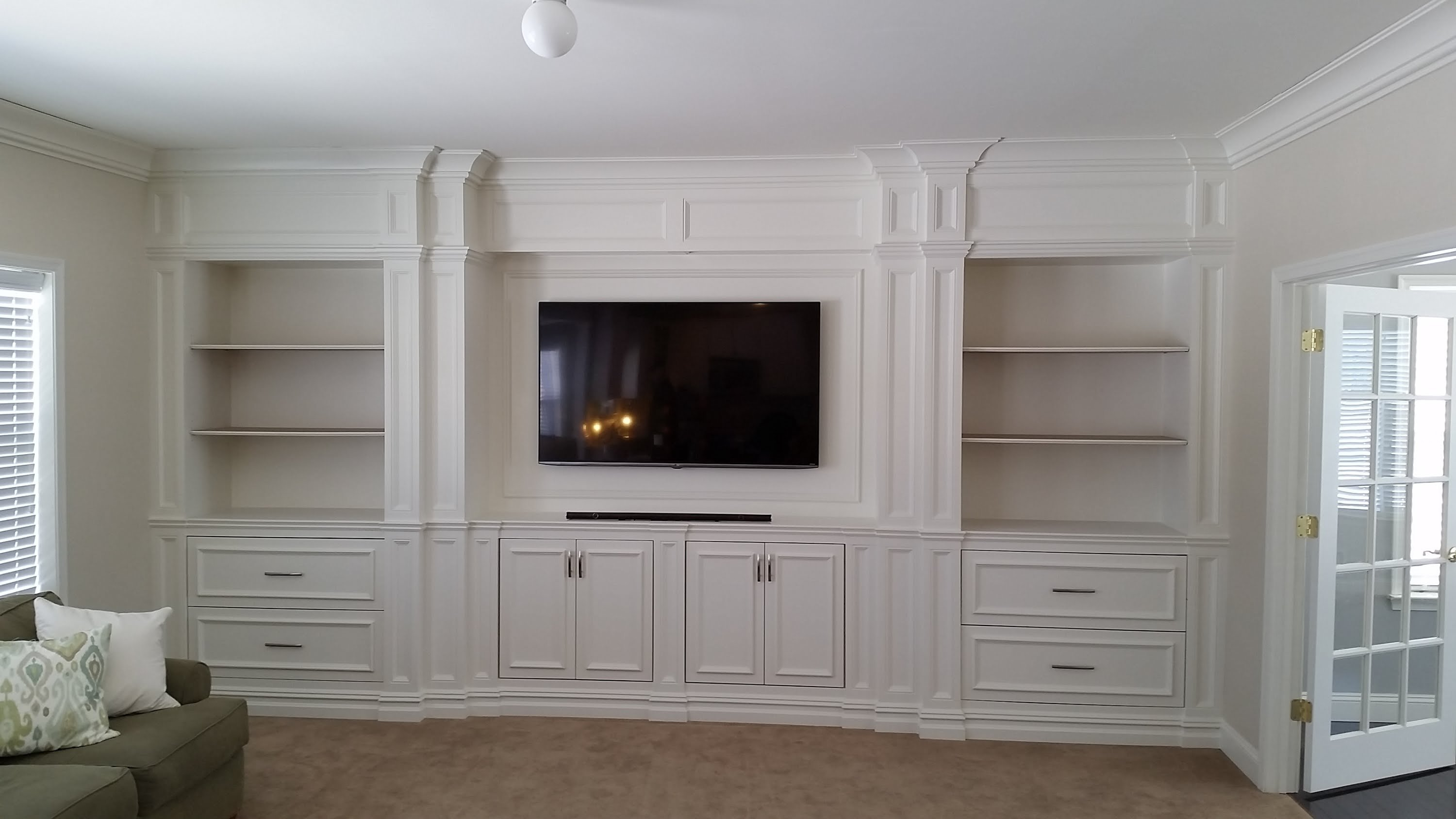 10 Awesome Built In Entertainment Center Ideas wall units built in entertainment centers ideas entertainment 2020