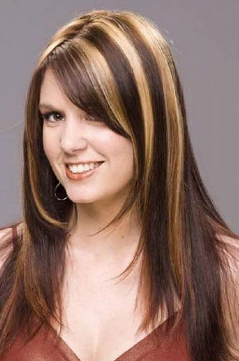 10 Stunning Hair Color With Highlights Ideas warm cooper lowlights accent these golden blonde impressive 2020