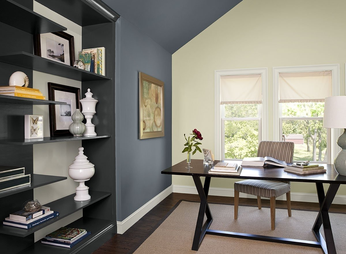 warm paint colors for home office organizing pinterest