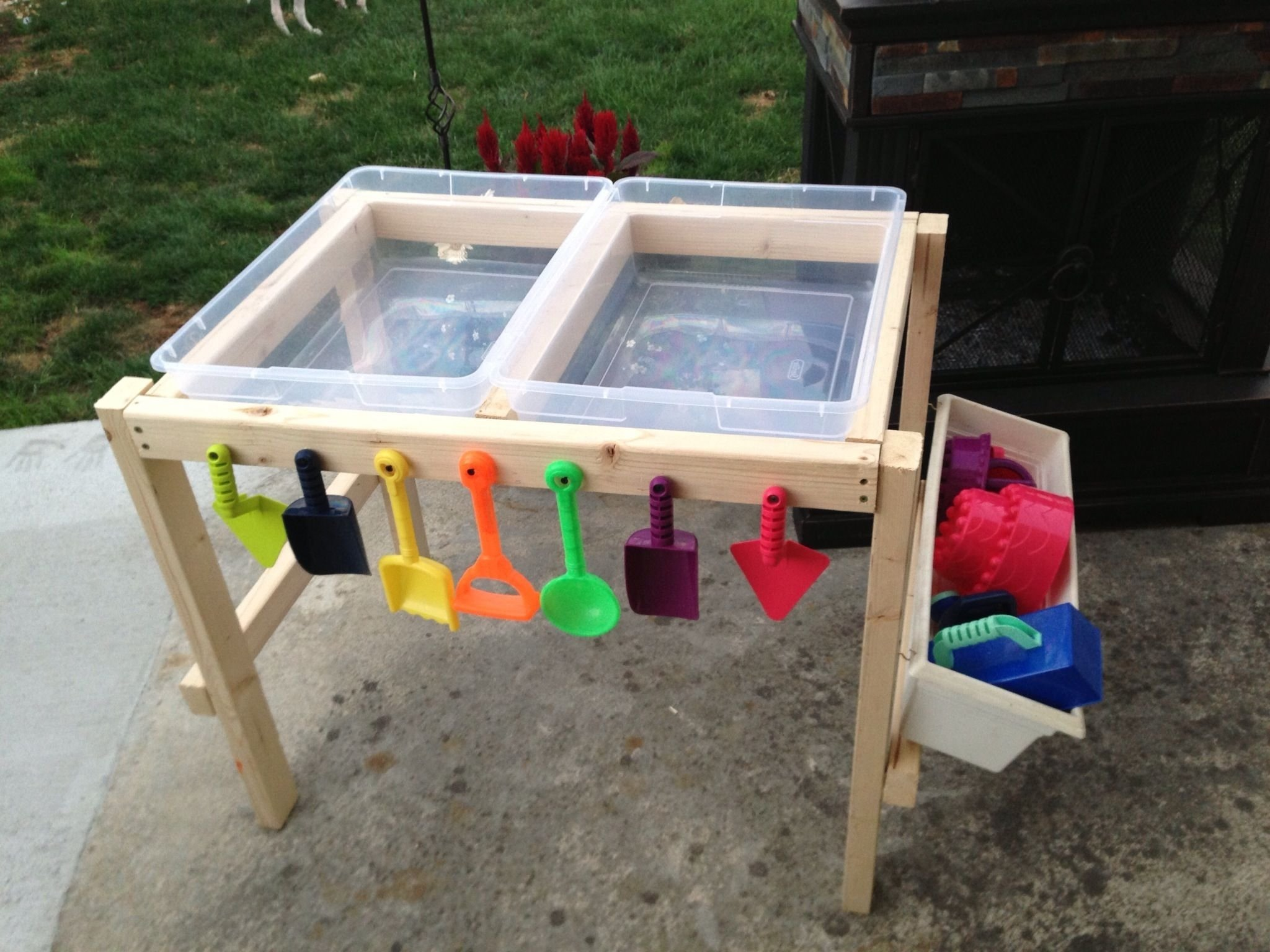 10 Lovely Sand And Water Table Ideas water and sand table madenana with love jasper fun pinterest 2020