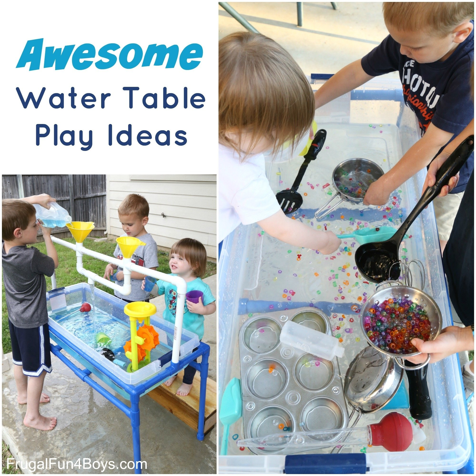 10 Lovely Sand And Water Table Ideas water table play ideas 2020