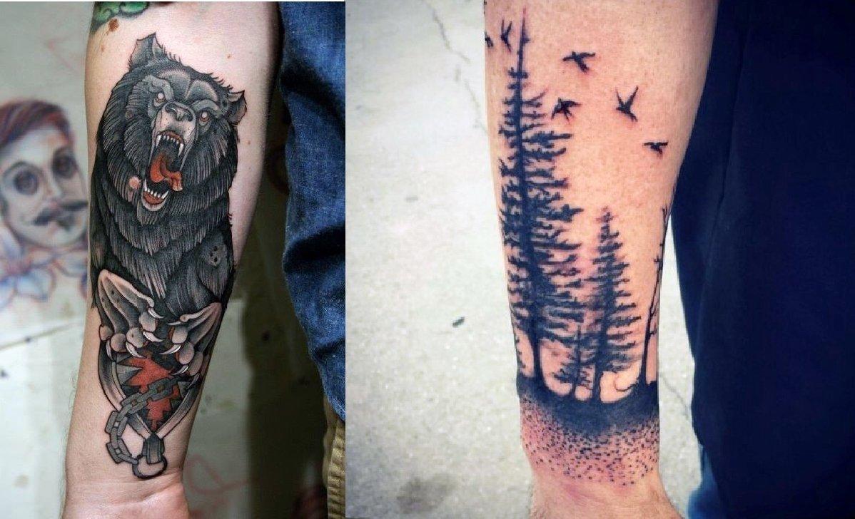 10 Unique Forearm Tattoos Ideas For Men watercolor tattoo views 58 heart tattoos views 16 dreamcatcher