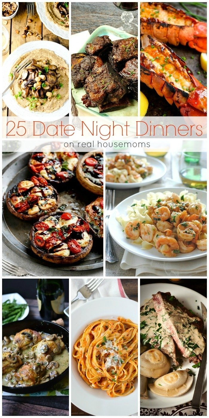 we love these 25 date night dinners for a fun date-night in instead