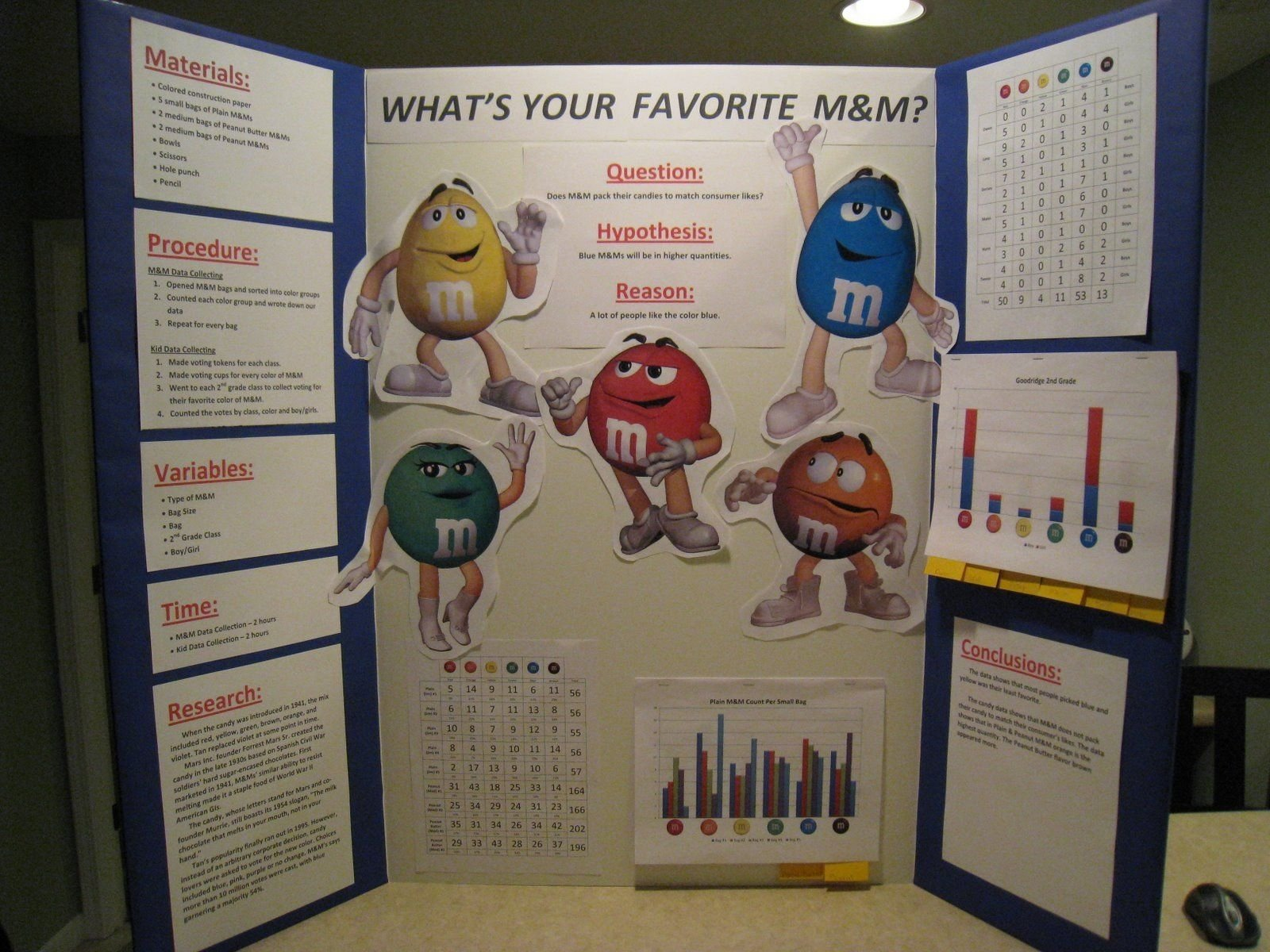 weather science projects with pics for 1st graders | this m & m