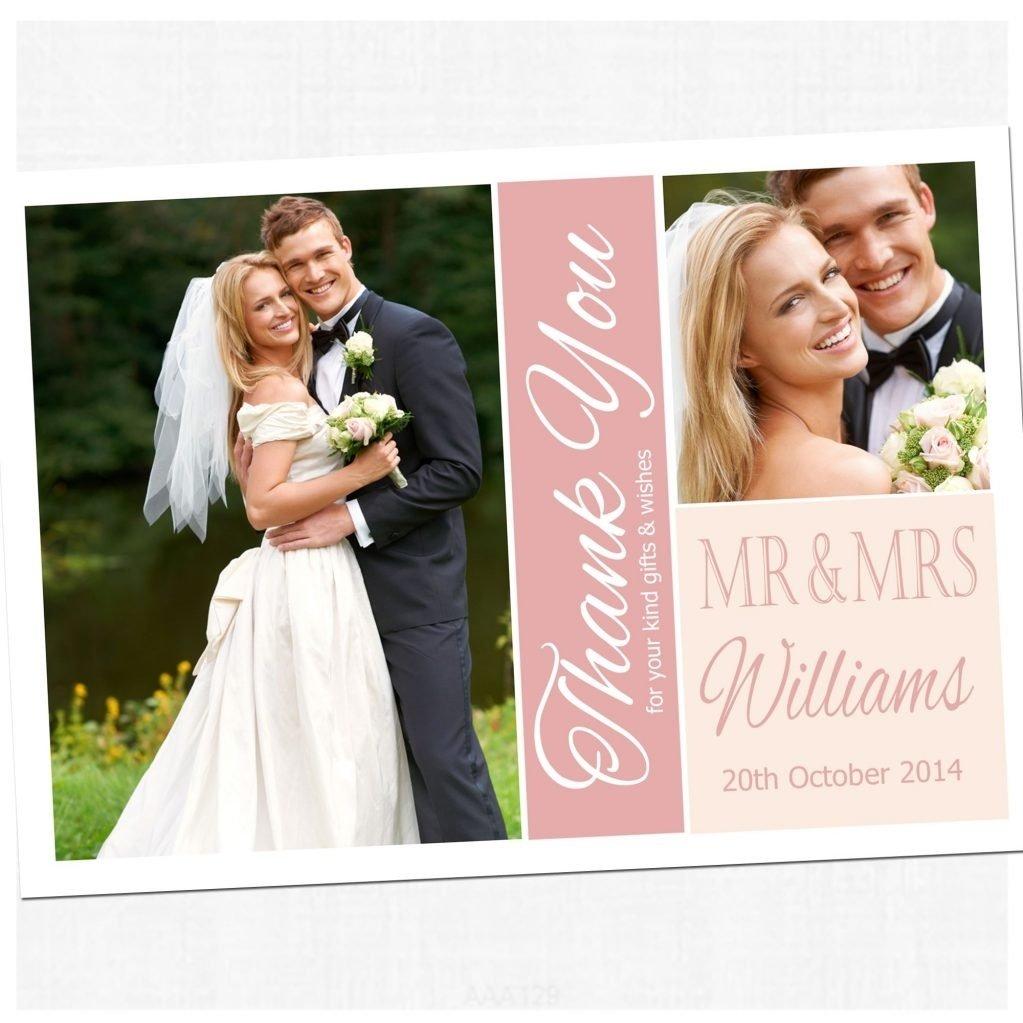 10 Lovely Wedding Thank You Card Ideas wedding 20 staggering wedding thank you cards image ideas sample 2020