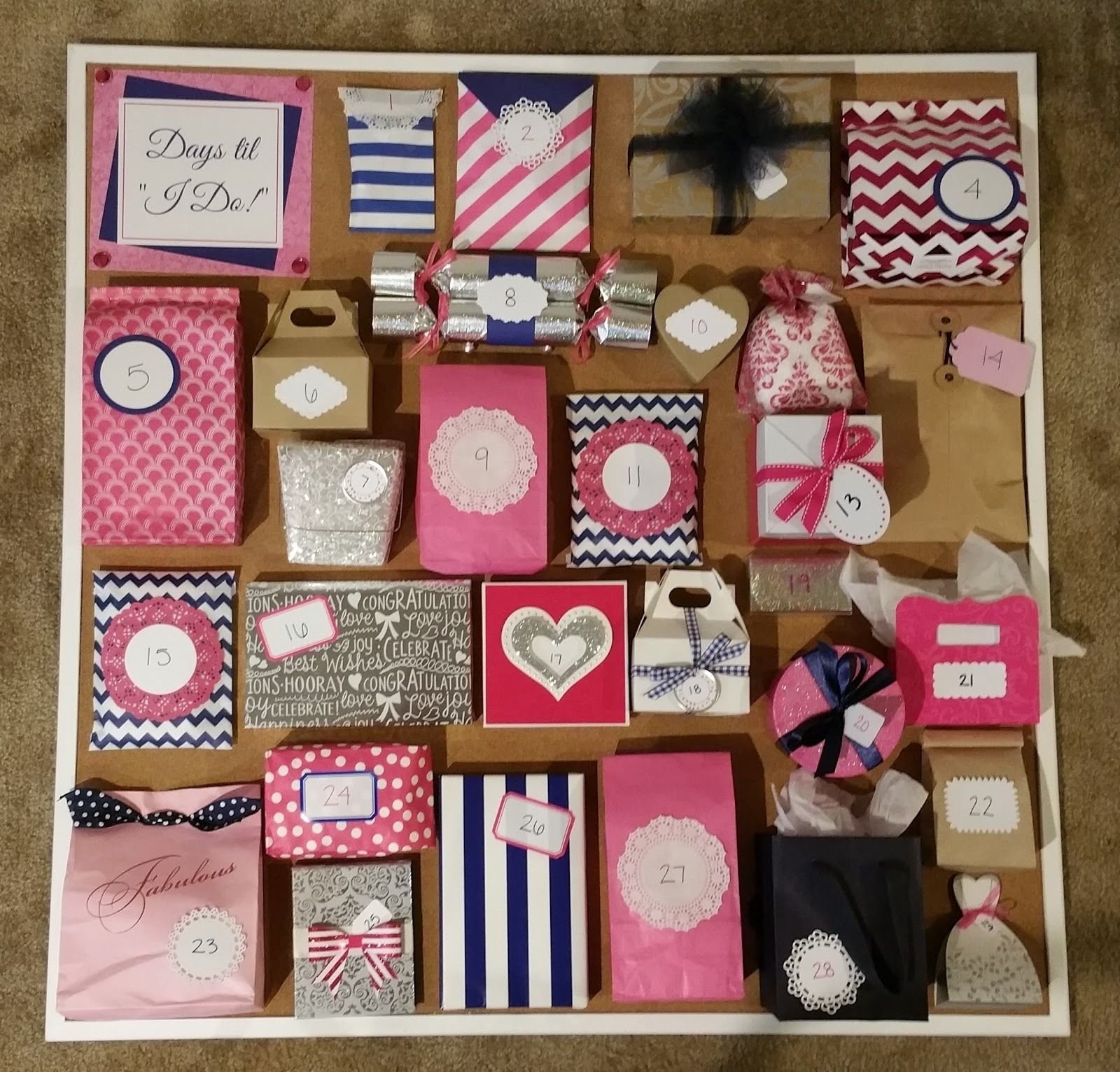 10 Trendy Gift Idea For Sister In Law wedding advent calendar amandas wedding shower pinterest 1