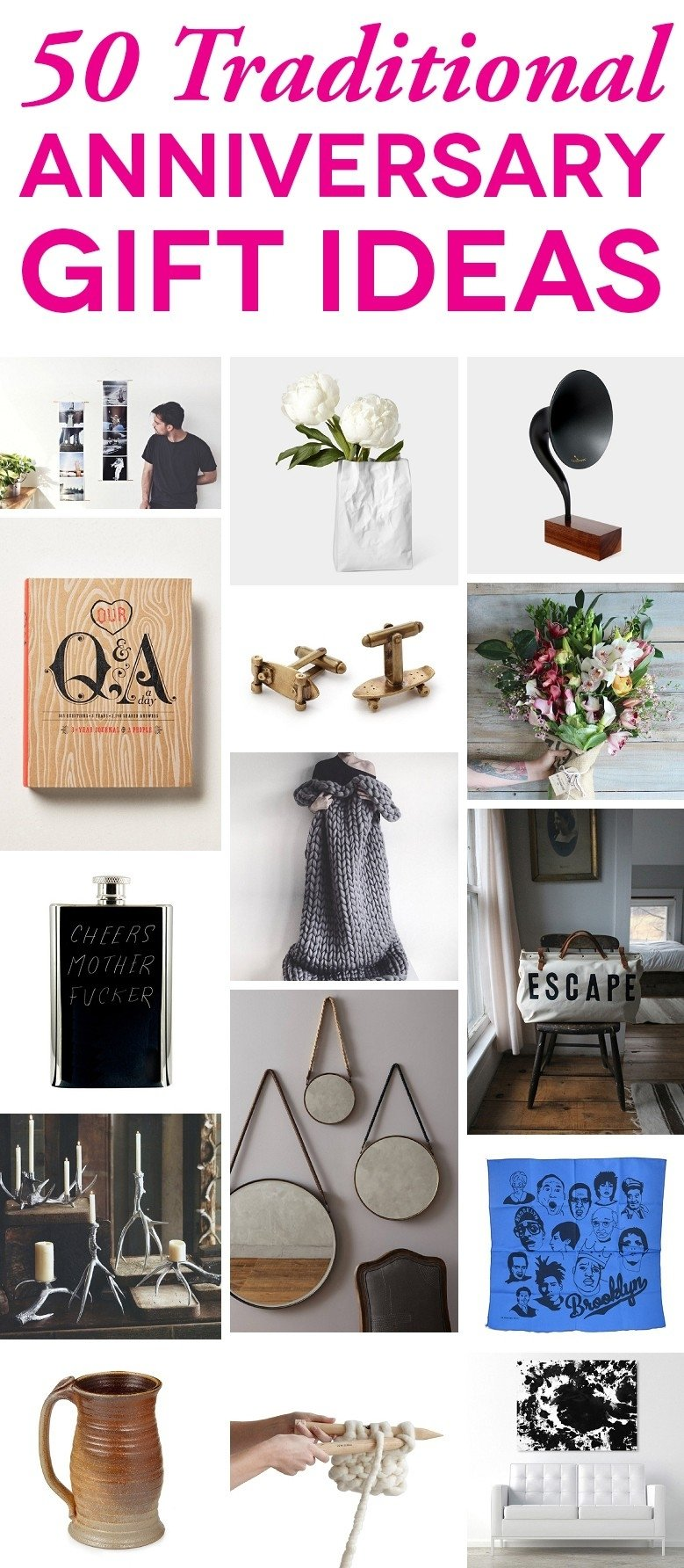 10 Elegant Good Ideas For Anniversary Gifts wedding anniversary gift suggestions beautiful traditional 2020