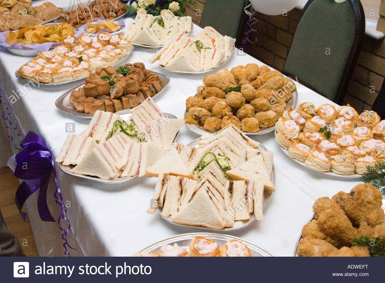 10 Beautiful Food Ideas For Wedding Reception