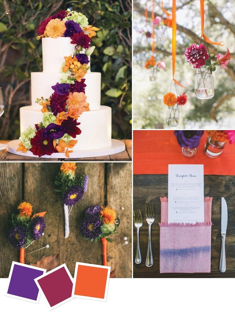 10 Amazing Wedding Color Ideas For Fall wedding colors for november wedding ideas uxjj 2020