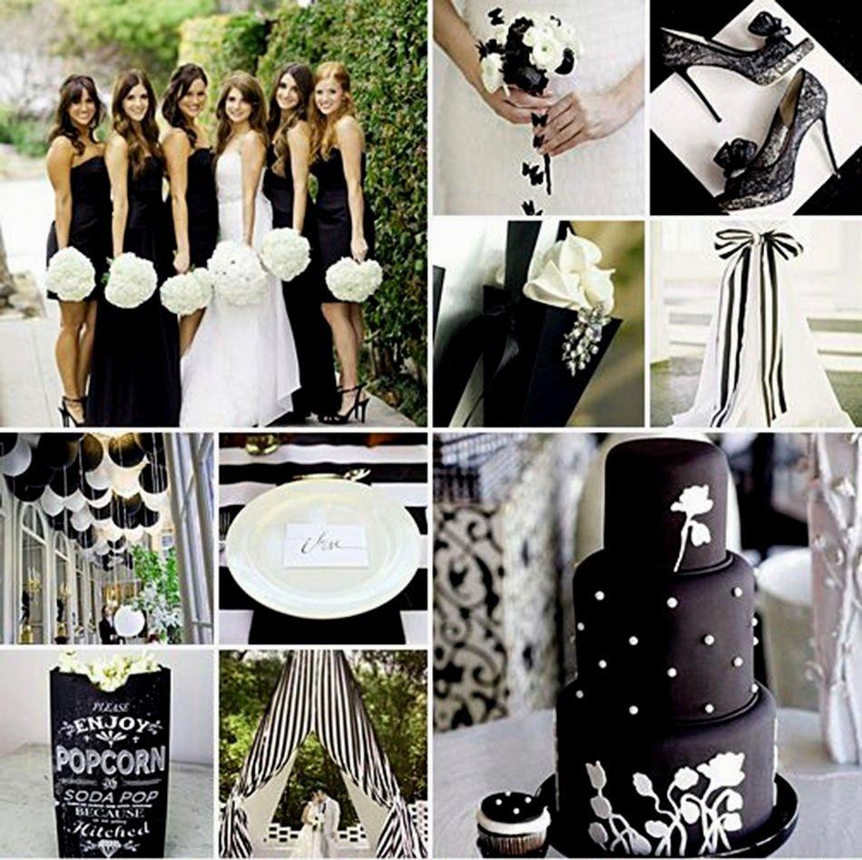 10 Amazing Black And White Wedding Ideas wedding decor black and white decor for wedding ideas wedding 2021