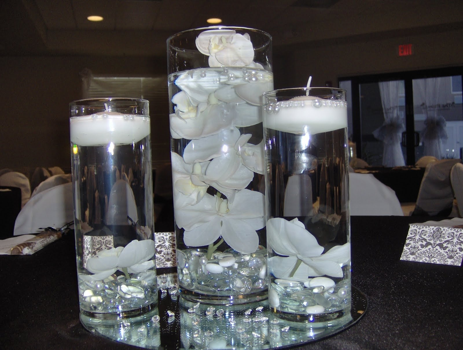 10 Fashionable Wedding Centerpiece Ideas Without Flowers wedding decor decorative wedding centerpieces ideas cheap glass 2020