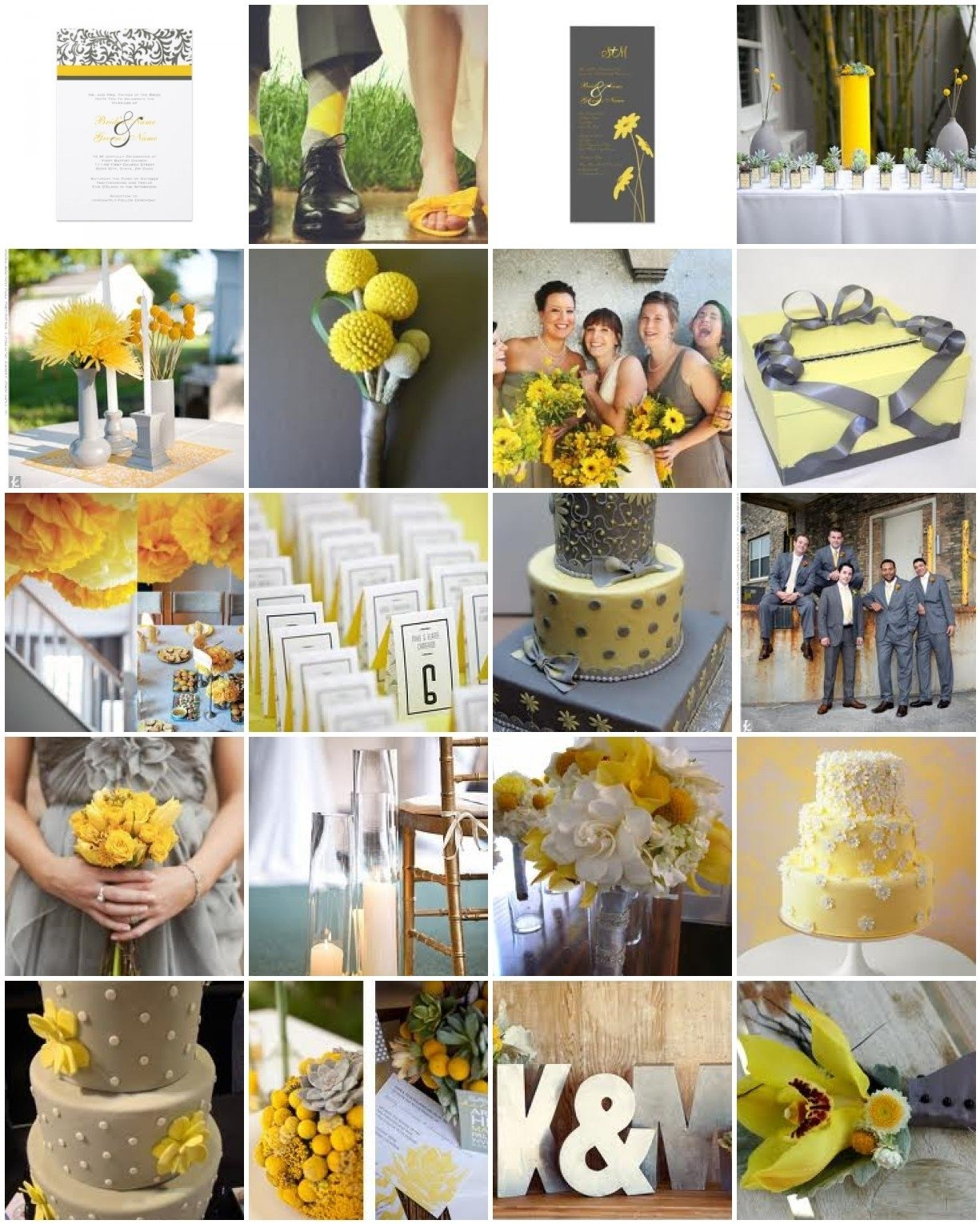 10 Most Recommended Grey And Yellow Wedding Ideas wedding decor new yellow and grey wedding decorations this wedding 2021