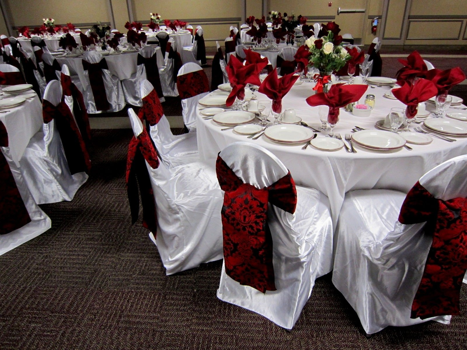 10 Ideal Black Red And White Wedding Ideas wedding decor red and black decorating of party