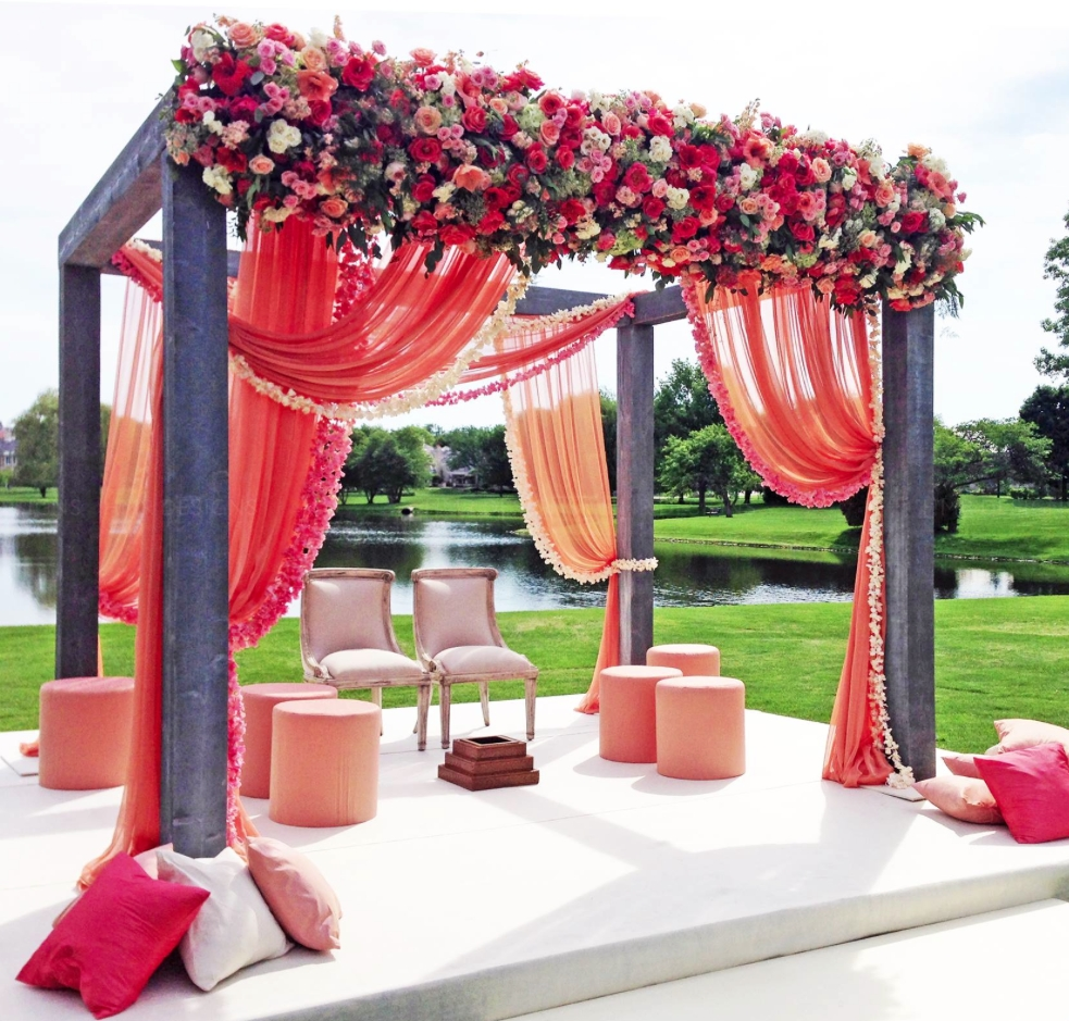 10 Lovely Red And Purple Wedding Ideas