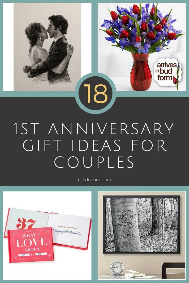 10 Fantastic First Year Anniversary Gift Ideas For Husband wedding gift cool first wedding anniversary gifts for husband from
