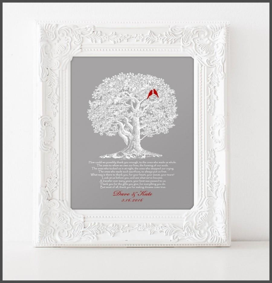 Awesome Wedding Gifts For Parents Of Bride And Groom Ideas - Styles ...