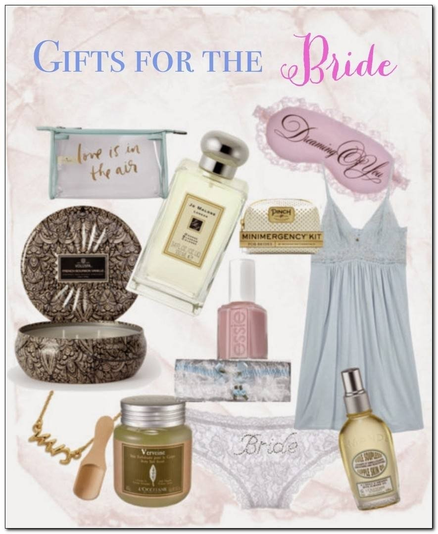 wedding gift ideas for your bride - wedding