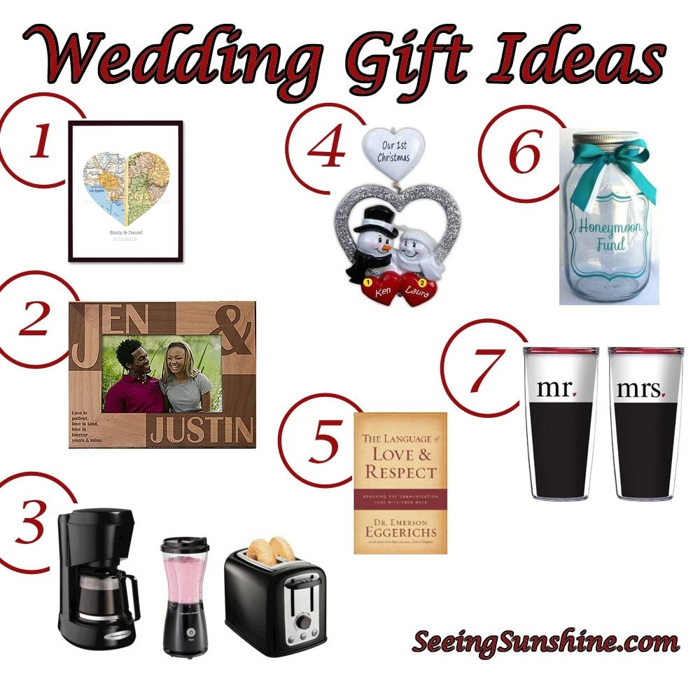 10 Fabulous Gift Ideas For Married Couples wedding gift ideas seeing sunshine