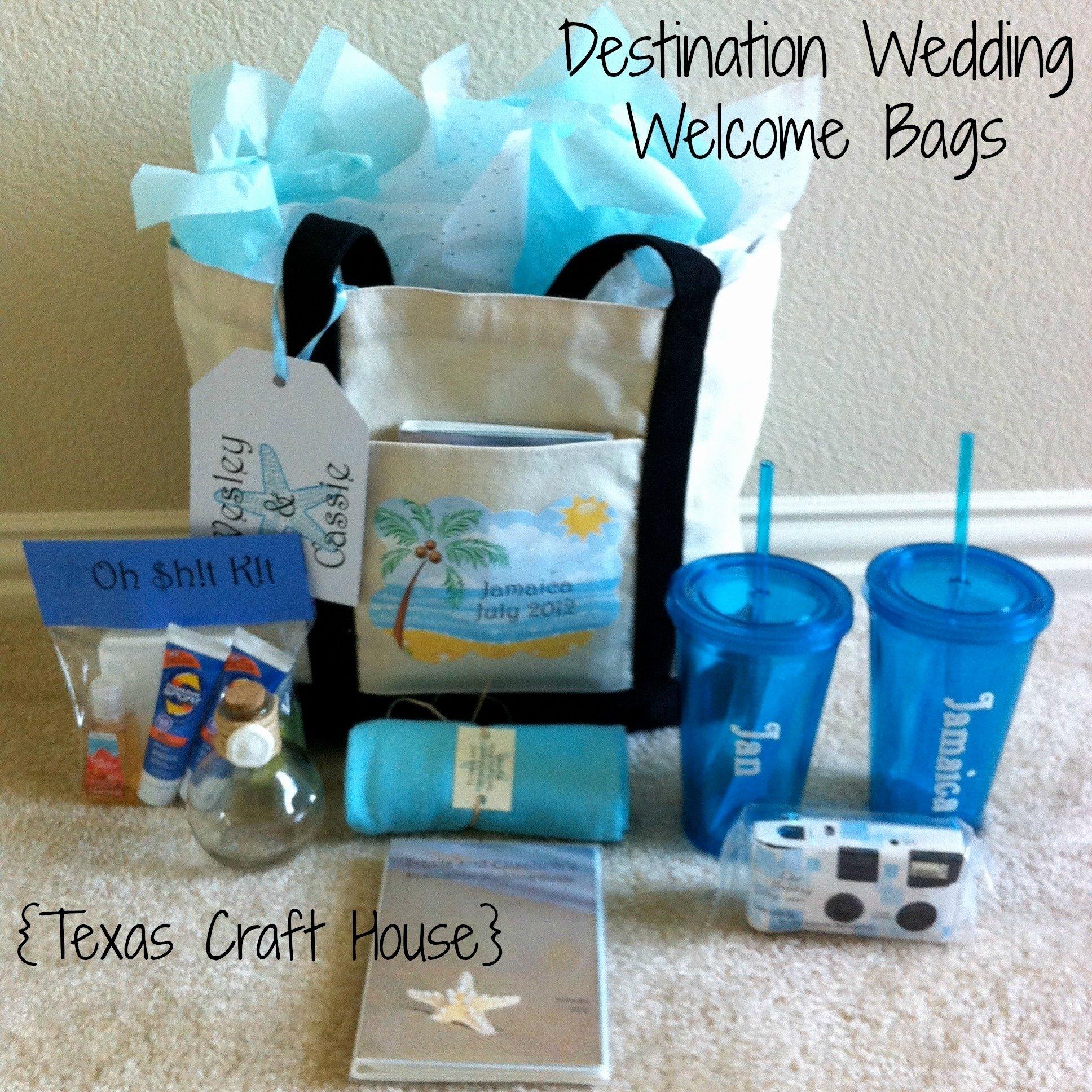10 Fabulous Destination Wedding Gift Bag Ideas