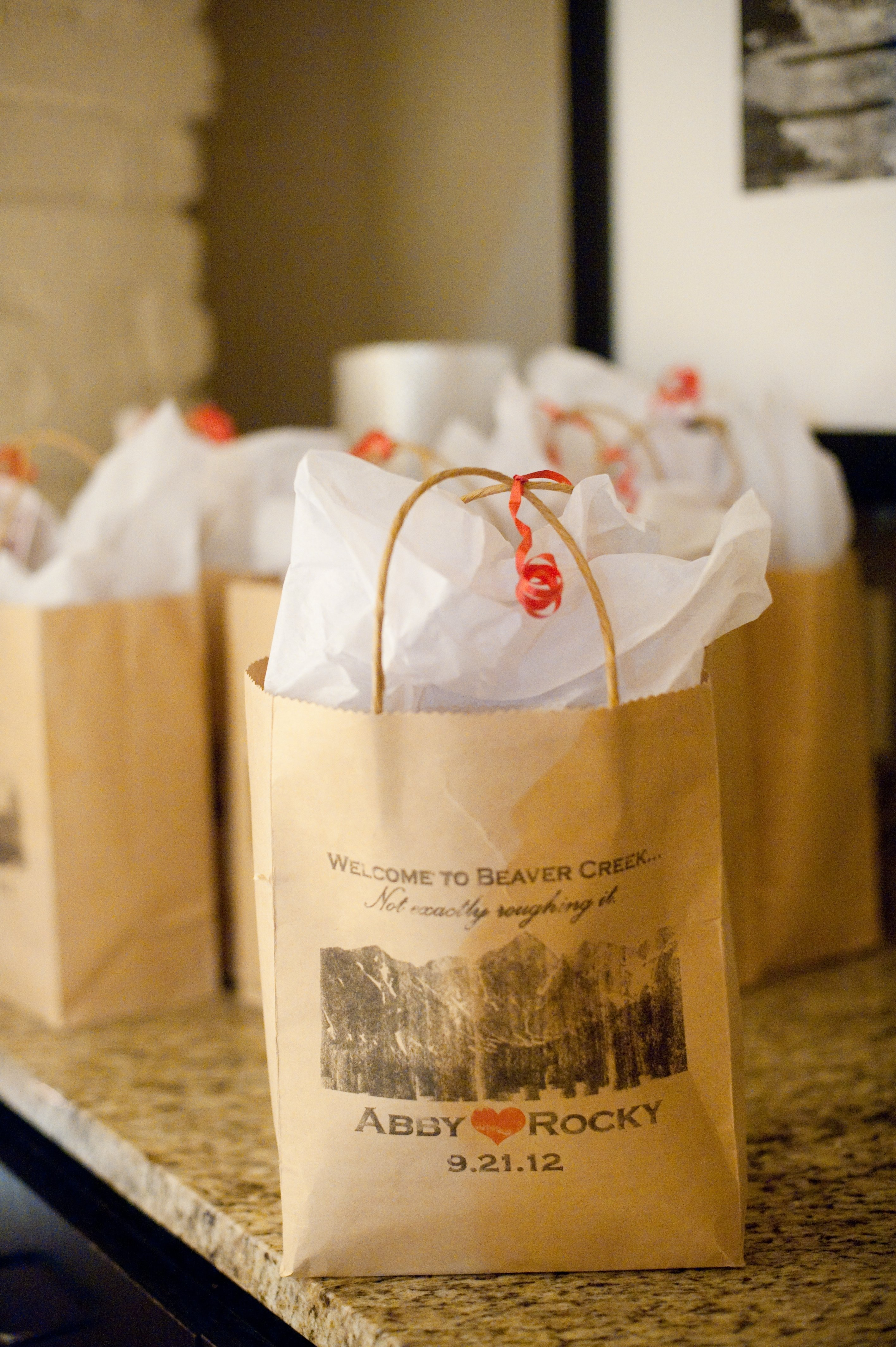 10 Fantastic Ideas For Wedding Welcome Bags wedding guest welcome bags colorado inspiration save the date 2021