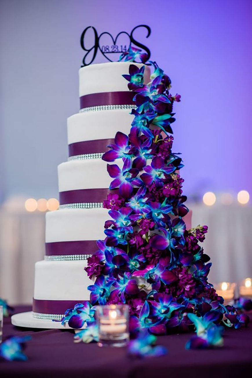 wedding ideascolour: blue and purple wedding theme | chwv