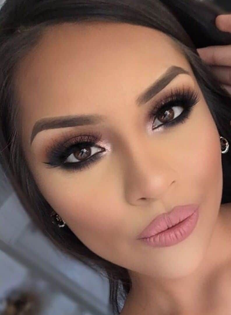 10 Perfect Wedding Makeup Ideas For Brown Eyes wedding makeup for brown eyes 15 best photos page 5 of 12