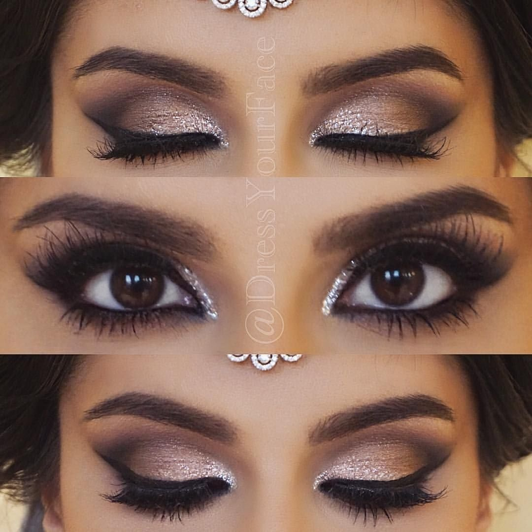 10 Awesome Cute Makeup Ideas For Brown Eyes wedding makeup for brunettes best photos wedding makeup brunettes 4 2020