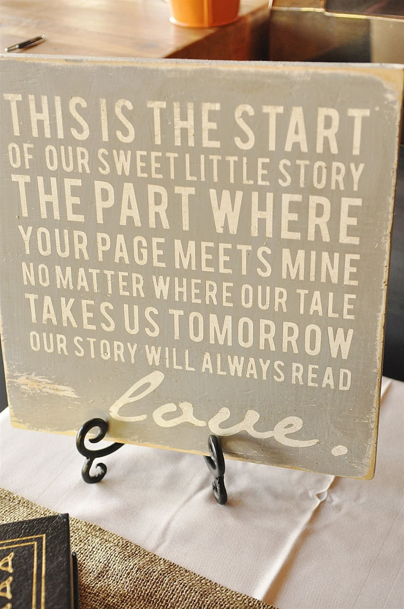 10 Best Wedding Rehearsal Dinner Ideas Decorations wedding rehearsal dinnerliterary love theme word art literature 2020