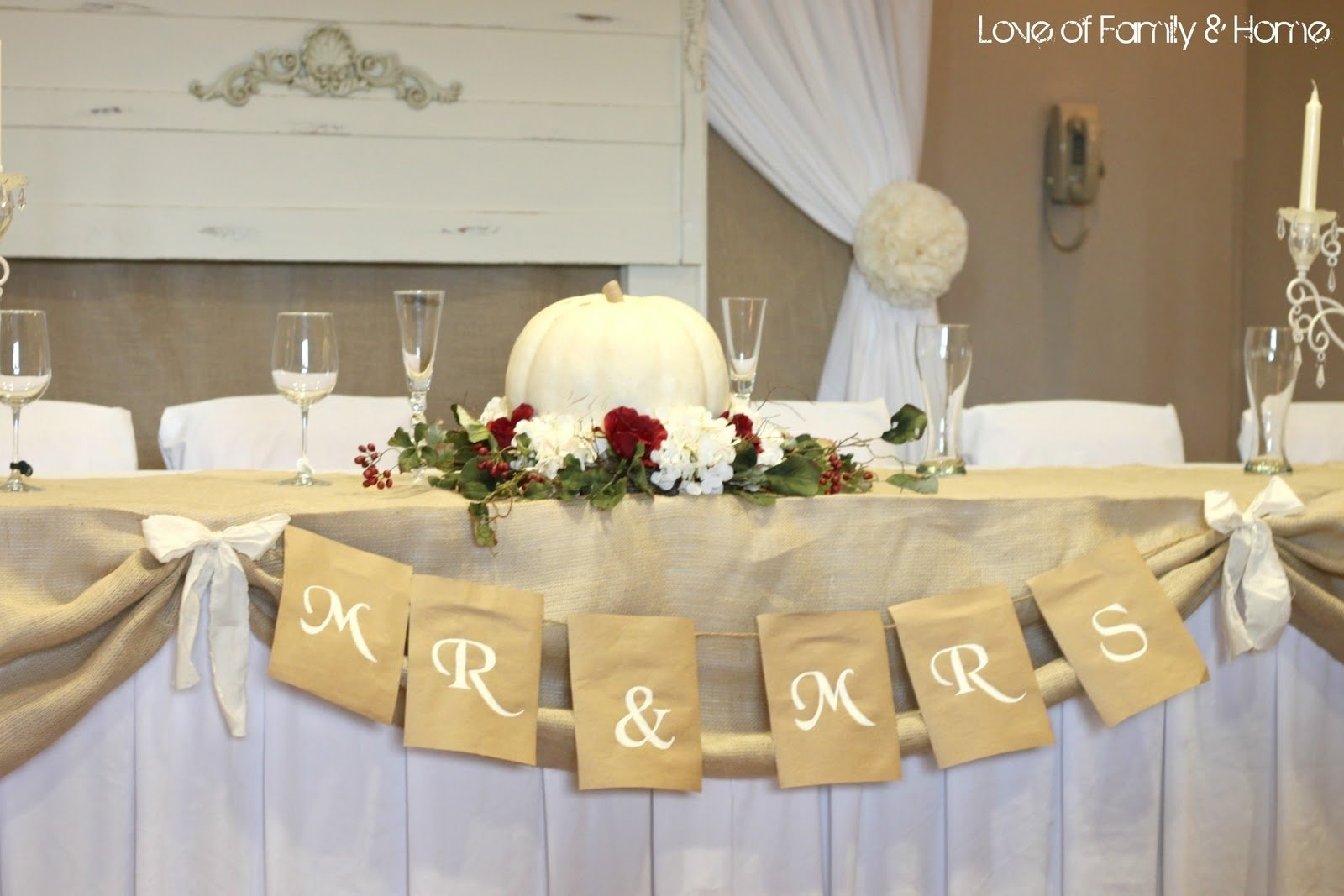 10 Trendy Wedding Reception Table Decorations Ideas