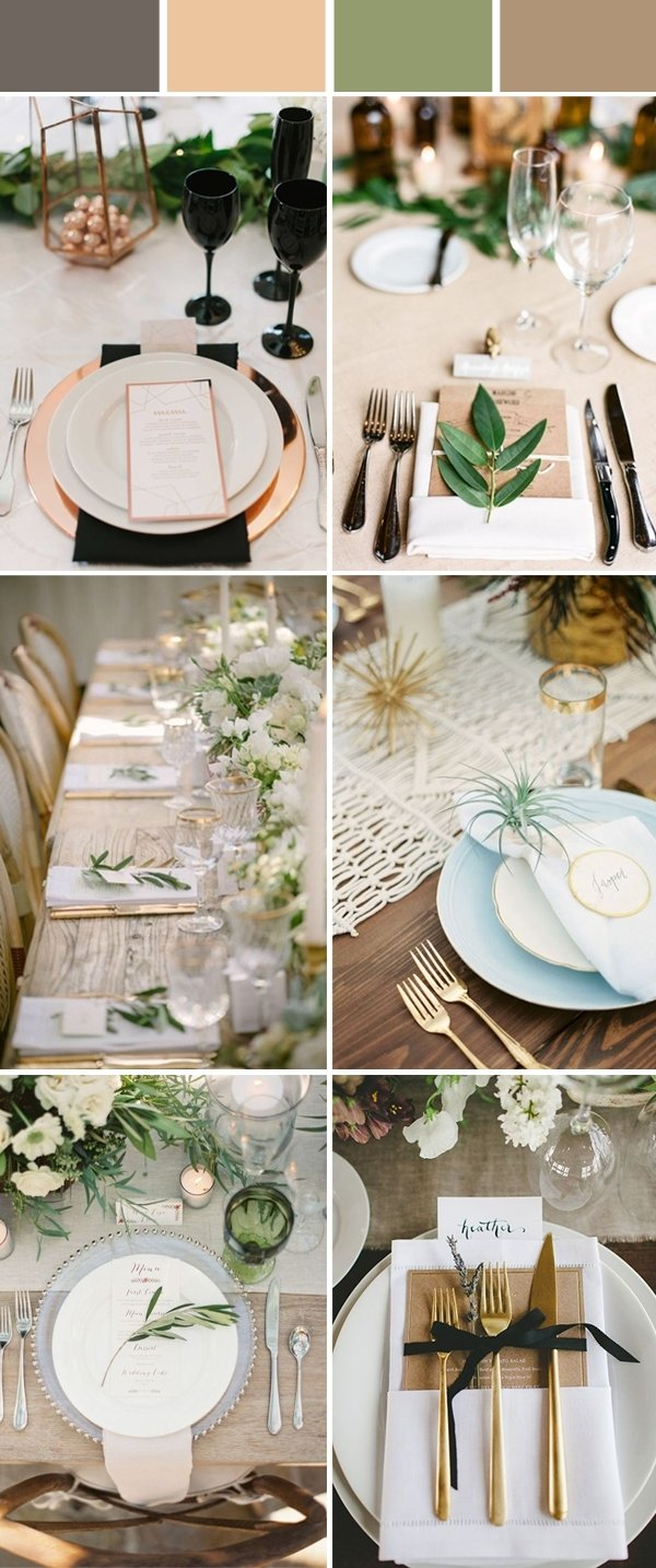 10 Cute Table Setting Ideas For Wedding wedding table setting decoration ideas for reception 2021