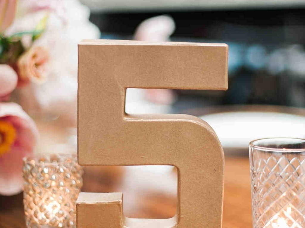 10 Fabulous Table Number Ideas For Wedding wedding tables cool table number ideas creative 50th anniversary