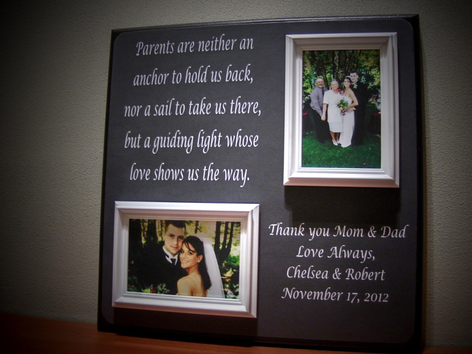 wedding thank you gifts for parents ideas elegant weding wedding