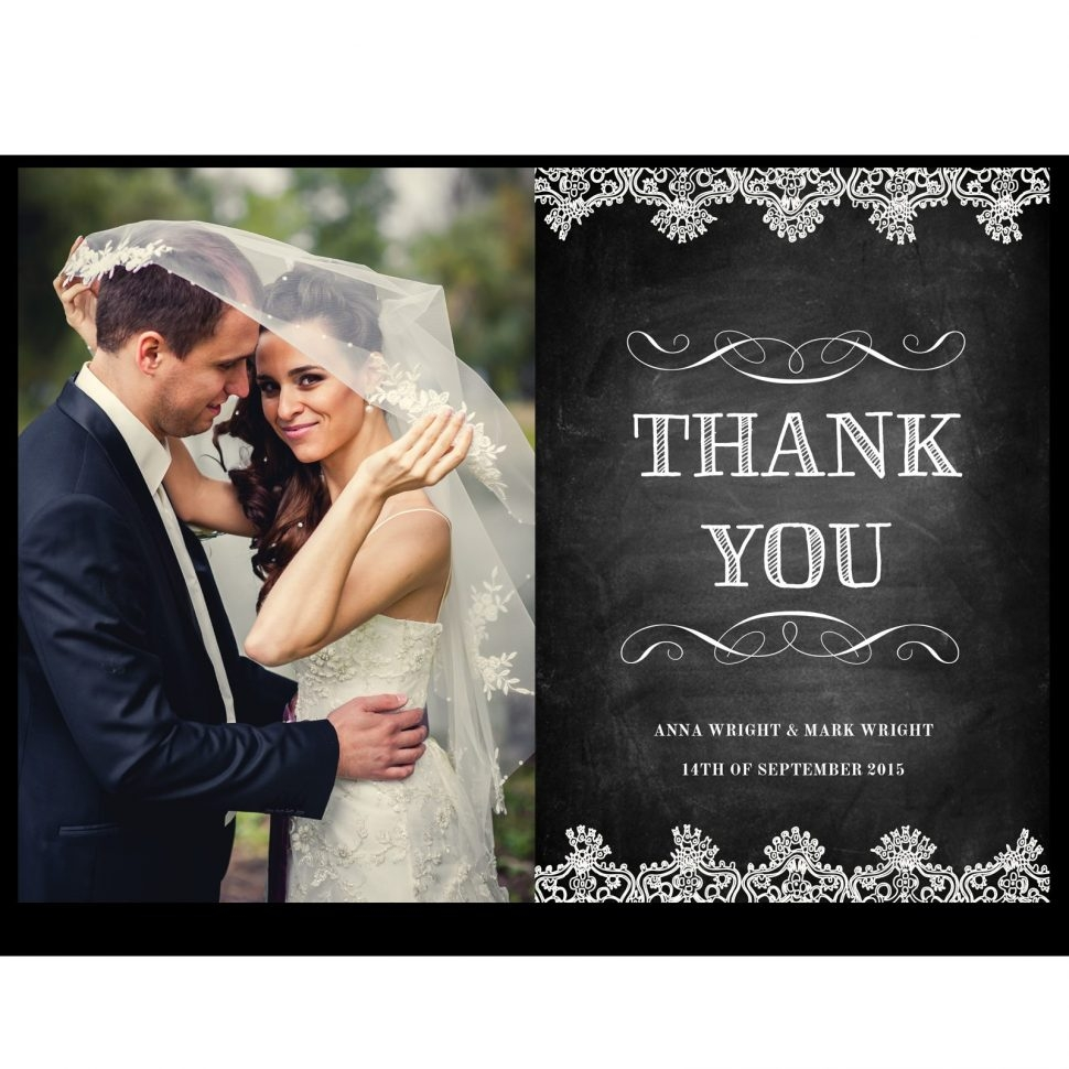 10 Lovely Wedding Thank You Card Ideas wedding wedding thank you post card new sample best pictures 2020