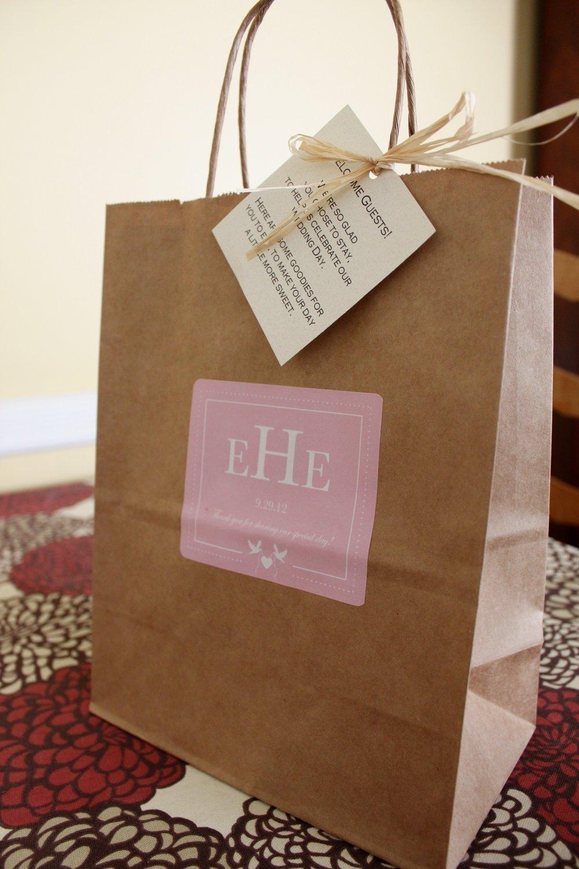 10 Cute Wedding Hotel Gift Bag Ideas