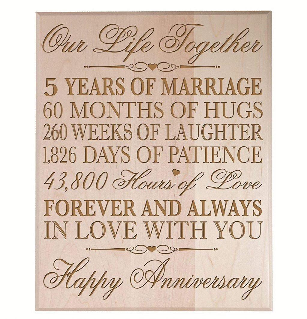 10 Pretty 5 Year Wedding Anniversary Gift Ideas wedding yearing anniversary gift traditional for him 5 year 2021