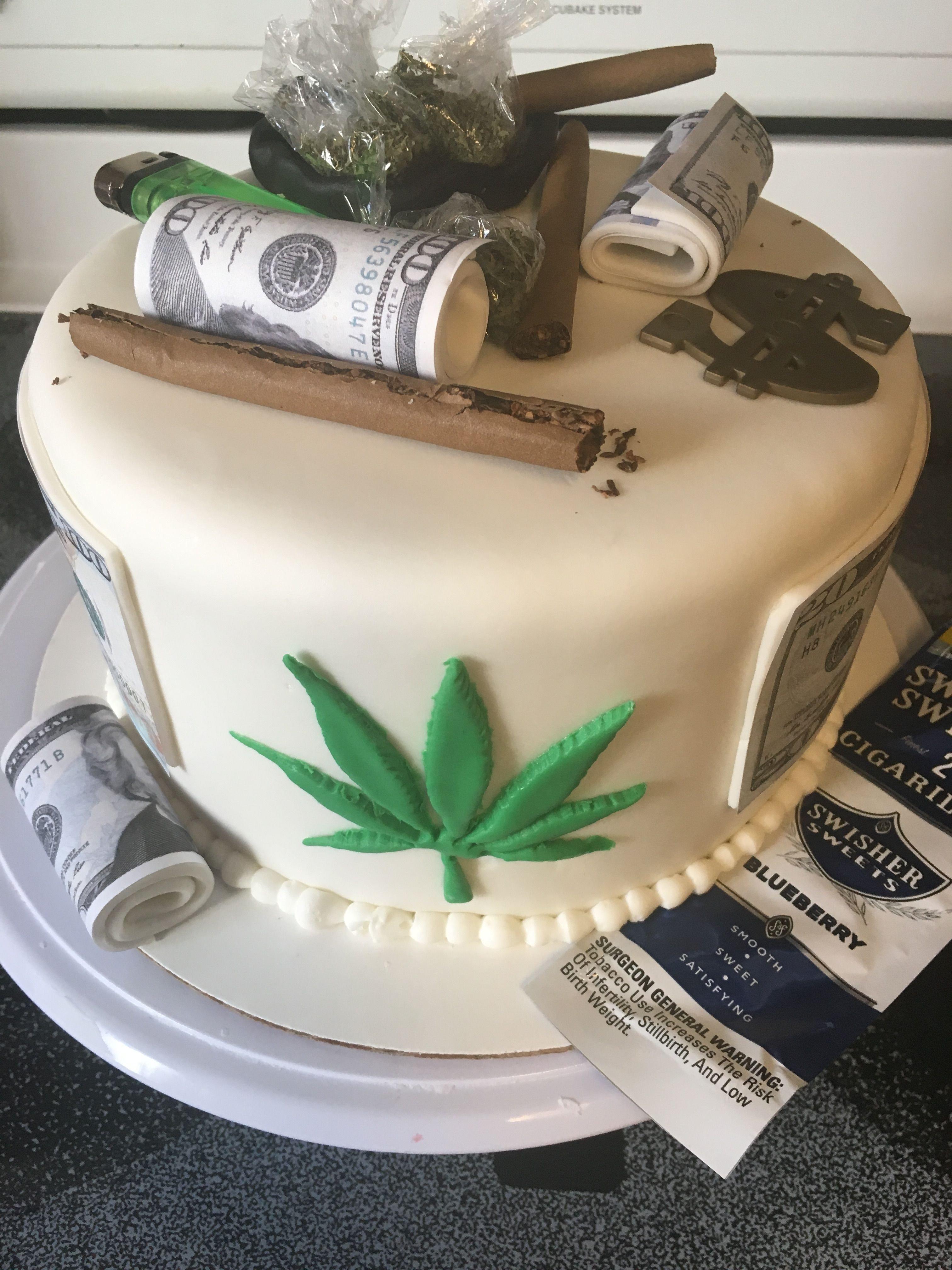 10 Fantastic Birthday Cake Ideas For Boyfriend weed cake birthday cakes pinterest cake birthdays and cake 2020