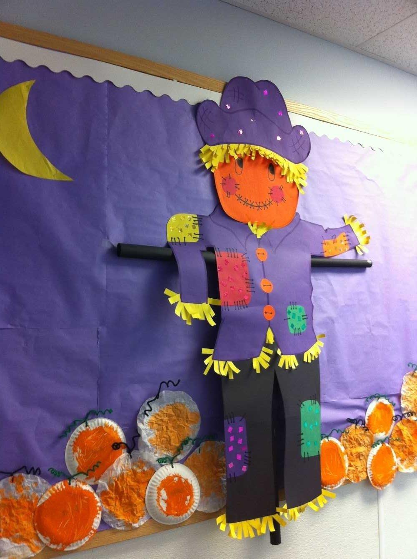 10 Fantastic Fall Halloween Bulletin Board Ideas welcome to our pumpkin patch fall halloween bulletin board idea 2020