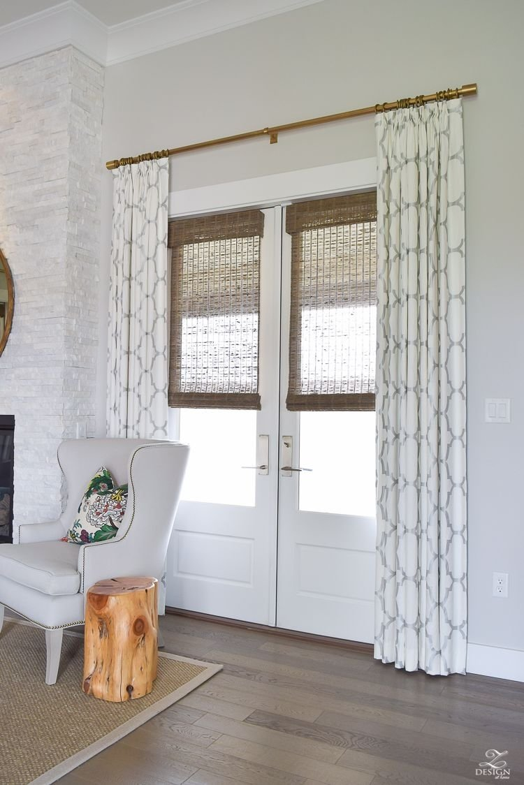 10 Stylish Curtain Ideas For French Doors well appointed curtains window doors and room