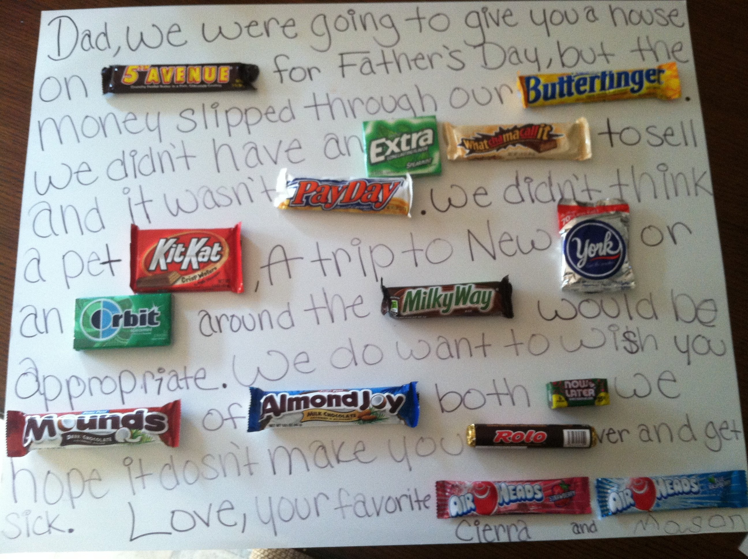 10 Gorgeous Christmas Gift Idea For Dad wemadeitgjcm gift for dad made it and ate it pinterest dads 1 2021