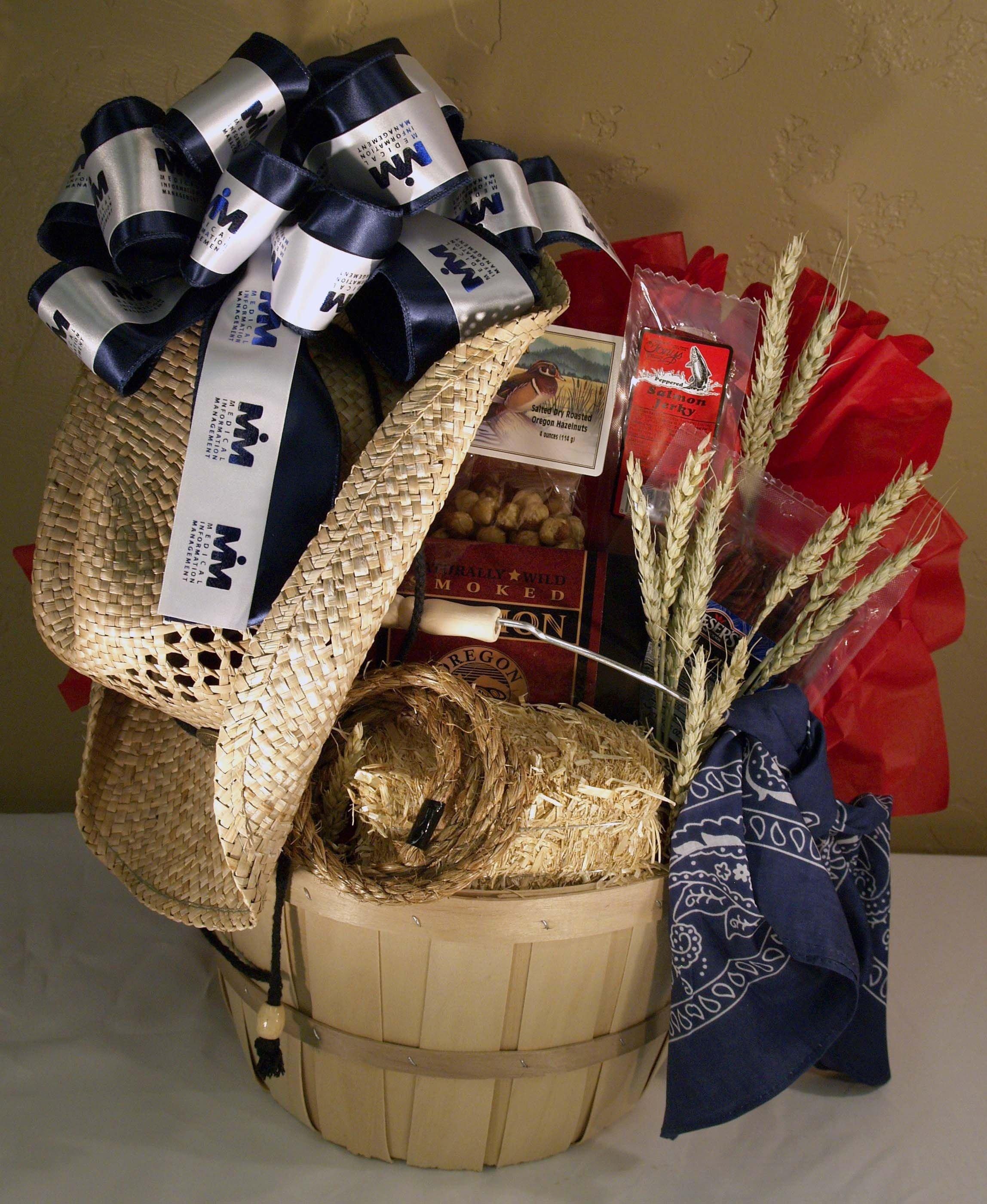 10 Cute Theme Basket Ideas For Silent Auction western themed basket mr whs pinterest basket ideas silent 2021