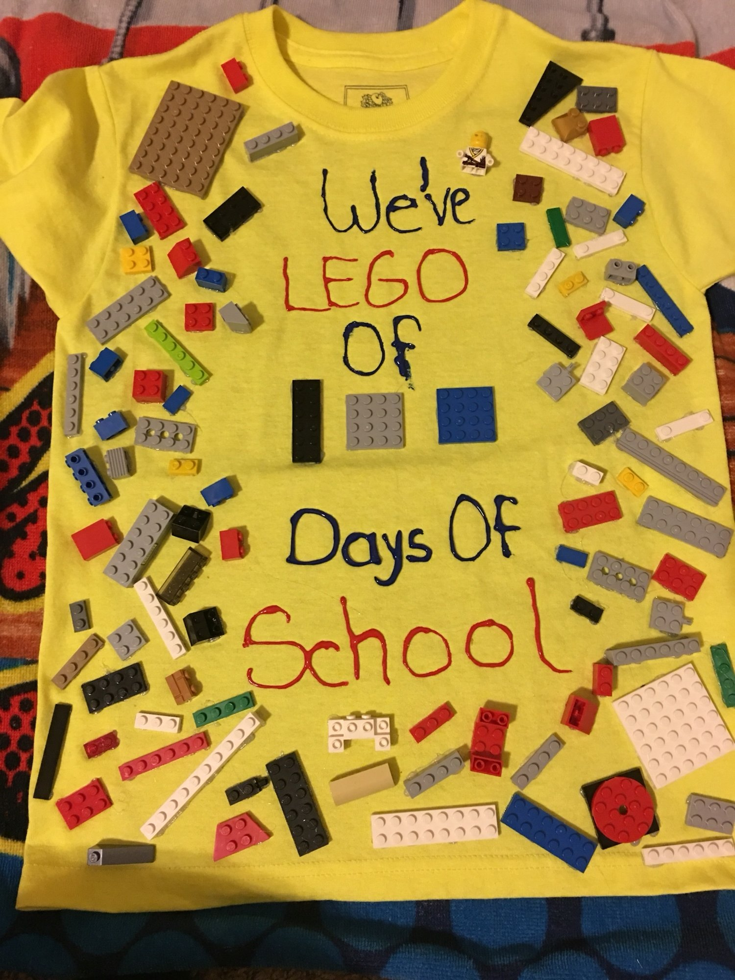 10 Perfect Ideas For 100 Days Of School Project weve lego 100 days of school 100th day t shirt my stuff 2 2021
