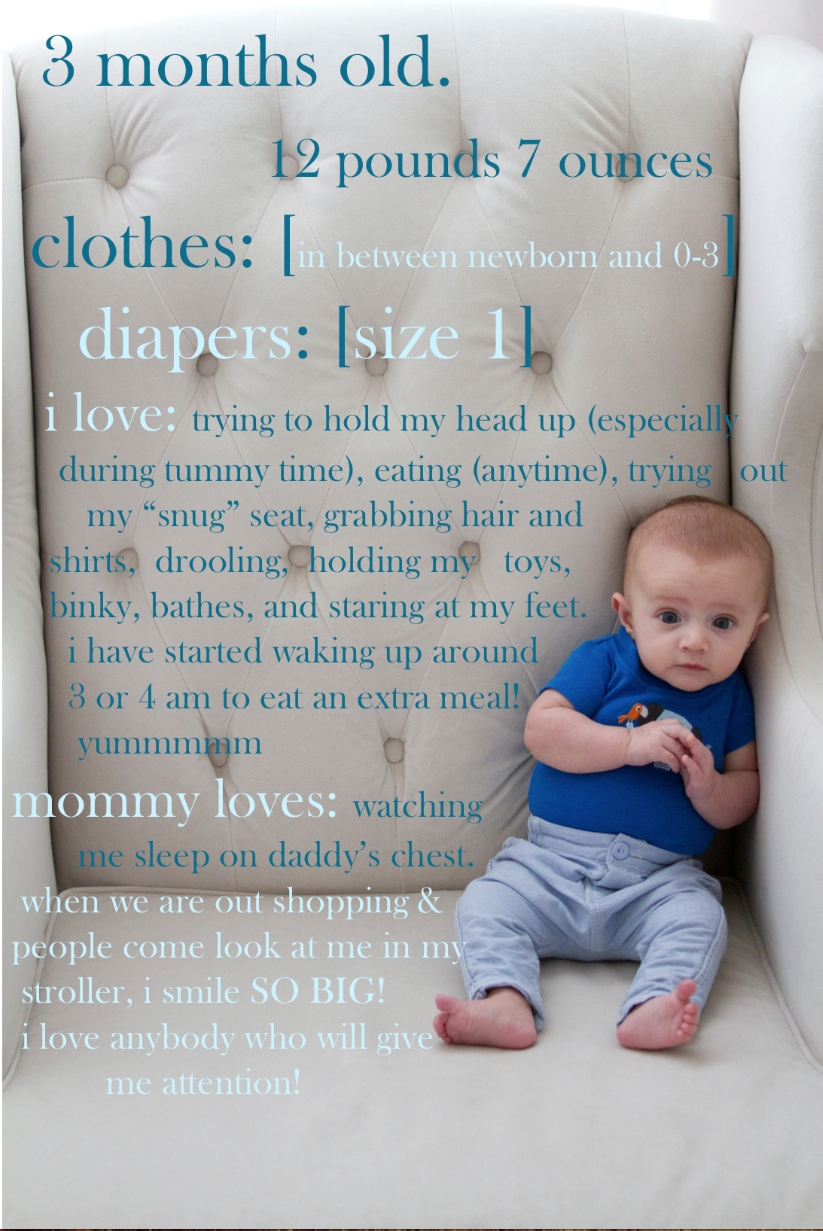 10 Fantastic 3 Month Old Photo Ideas what a cute idea for monthly pictures in my case every 3 months 2 2020