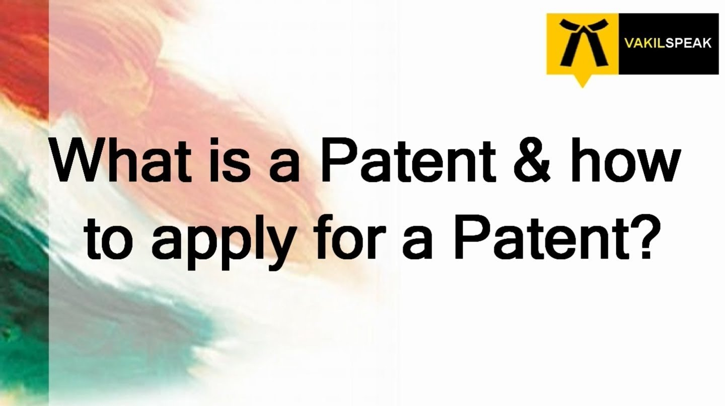 10 Beautiful How Do I Get A Patent On An Idea what is a patent and how to apply for a patent youtube 2020