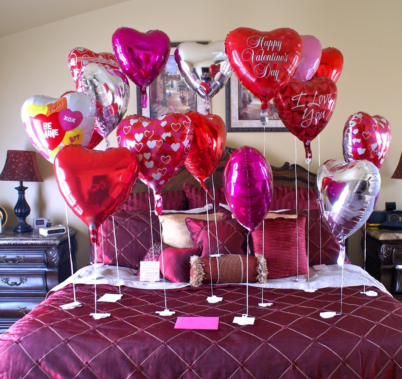 10 Fantastic At Home Valentines Day Ideas what to decorate your home in valentines day charming bedroom also