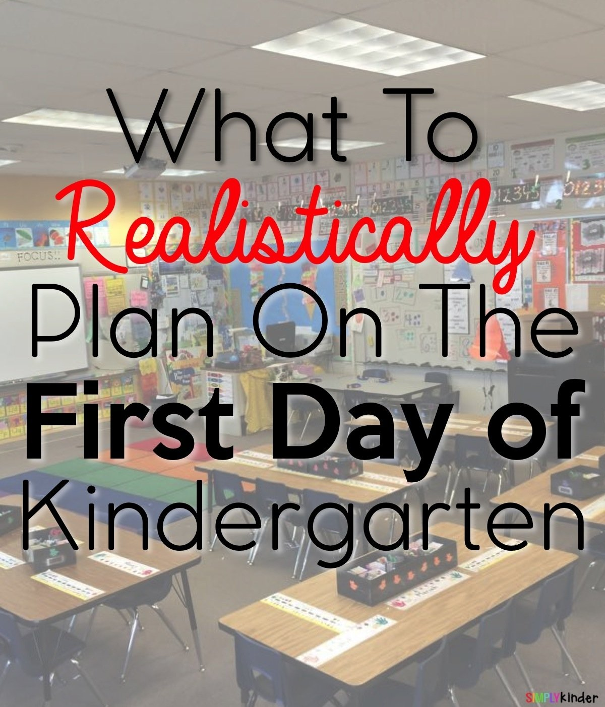 10 Fabulous First Day Of Preschool Ideas what to plan on the first day of kindergarten simply kinder 1 2020