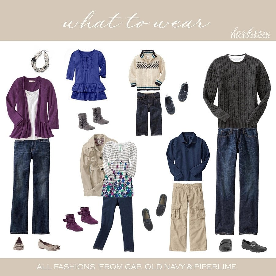 10 Lovely Fall Family Picture Ideas Clothing what to wear family photos photography what to wear pinterest 2020